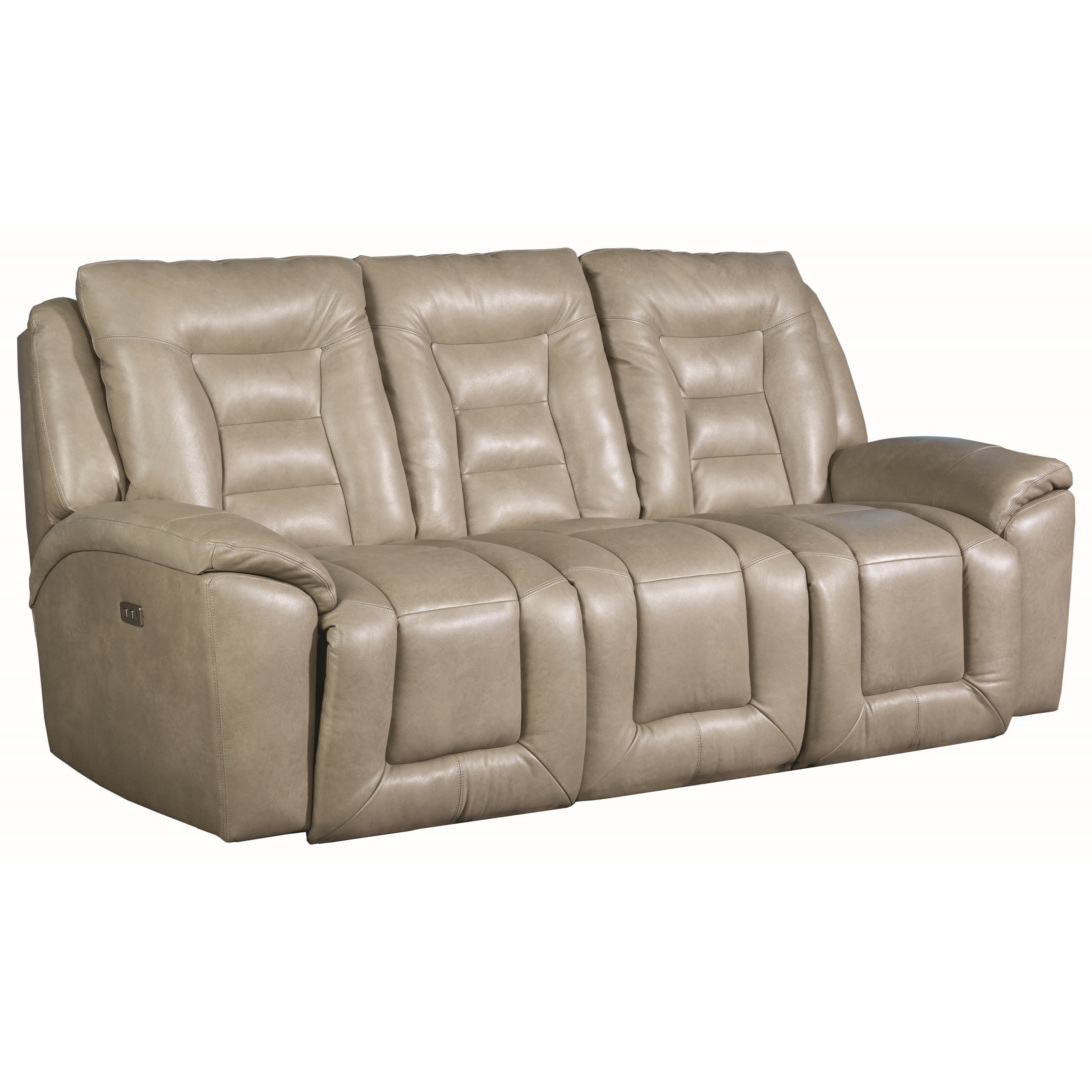 Grid Iron Power Headrest Reclining Sofa by Southern Motion at Sparks HomeStore