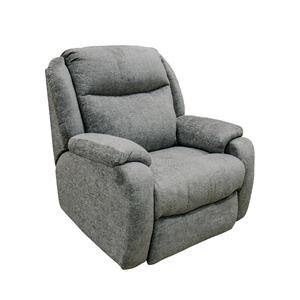 Gray Socozi Power Recliner with Heat, Massage, Power Lumbar, and Power Headrest