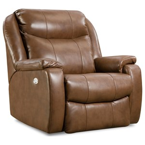 Transitional Power Headrest Big Man's Wallhugger Recliner with SoCozi Technology