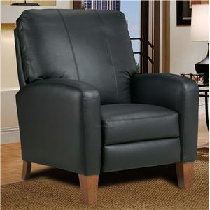 High Leg Recliner with Track Arms