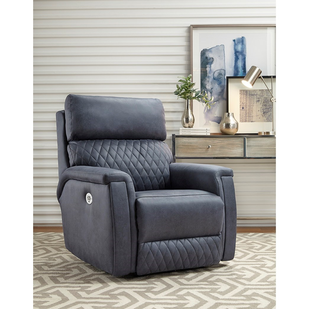 High Rise Power Headrest Rocker by Southern Motion at Suburban Furniture