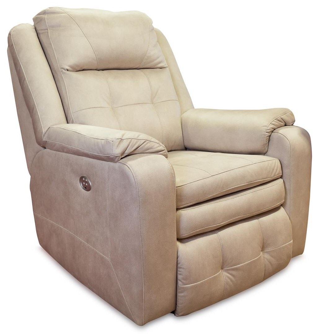 Savvy Wall Hugger Recliner w/ Power Headrest by Design to Recline at Rotmans