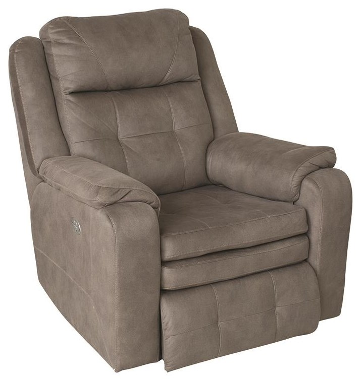 Inspire Power Recliner With Power Headrest And USB P by Southern Motion at Darvin Furniture