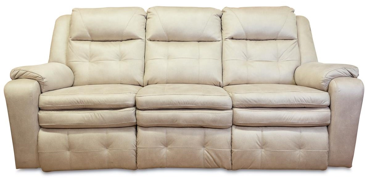 Savvy Double Reclining Sofa with Power Headrest by Design to Recline at Rotmans