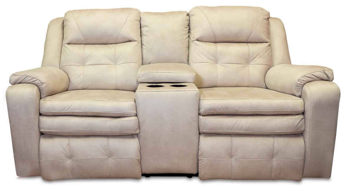 Savvy Reclining Loveseat with Power Headrest by Design to Recline at Rotmans