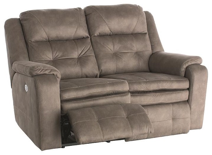 Inspire Dual Reclining Power Loveseat With Power Hea by Southern Motion at Darvin Furniture