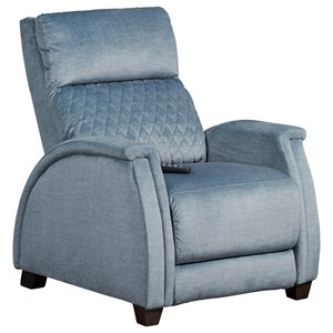 Contemporary Zero Gravity Wallhugger Recliner with Power Headrest