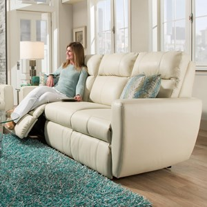 Power Plus Reclining Sofa with USB Port
