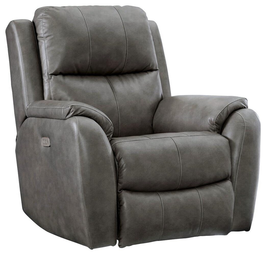 Marquis Power Headrest Rocker Recliner by Southern Motion at Johnny Janosik
