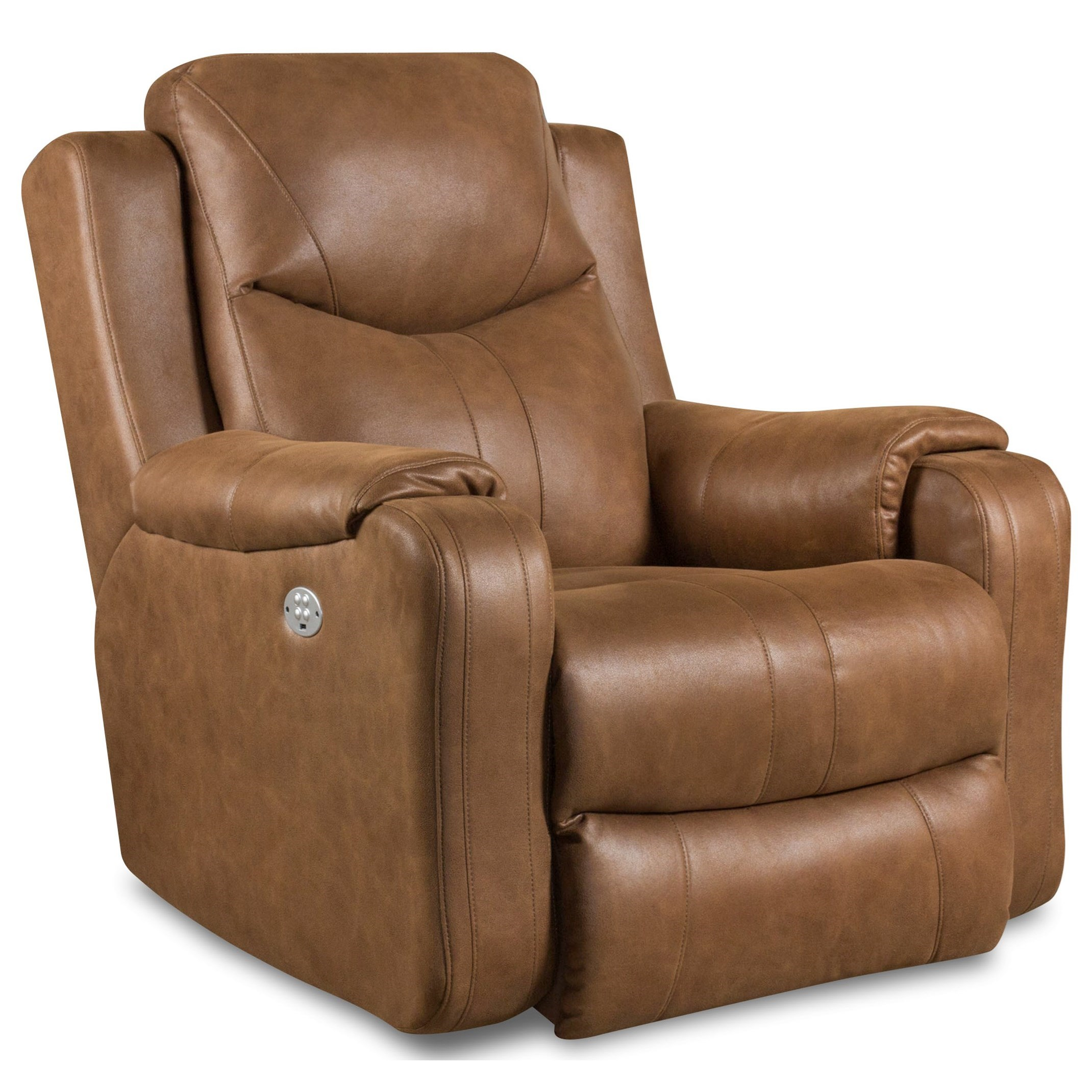 Marvel Power Rocker Recliner by Southern Motion at Bullard Furniture