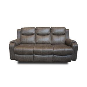 Double Reclining Contemporary Sofa
