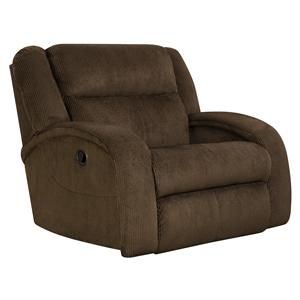 Layflat Recliner Chair and a Half with Contemporary Style