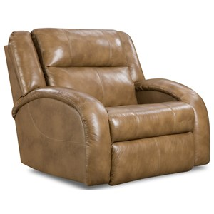 Power Layflat Recliner Chair and a Half with Contemporary Style