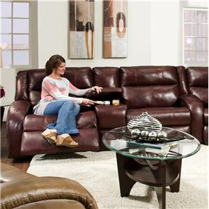 Console Sofa with Contemporary Style