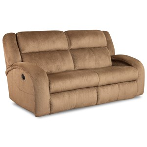 Layflat Reclining Sofa with Contemporary Style