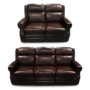 2PC Power Recline Sofa & Loveseat Set