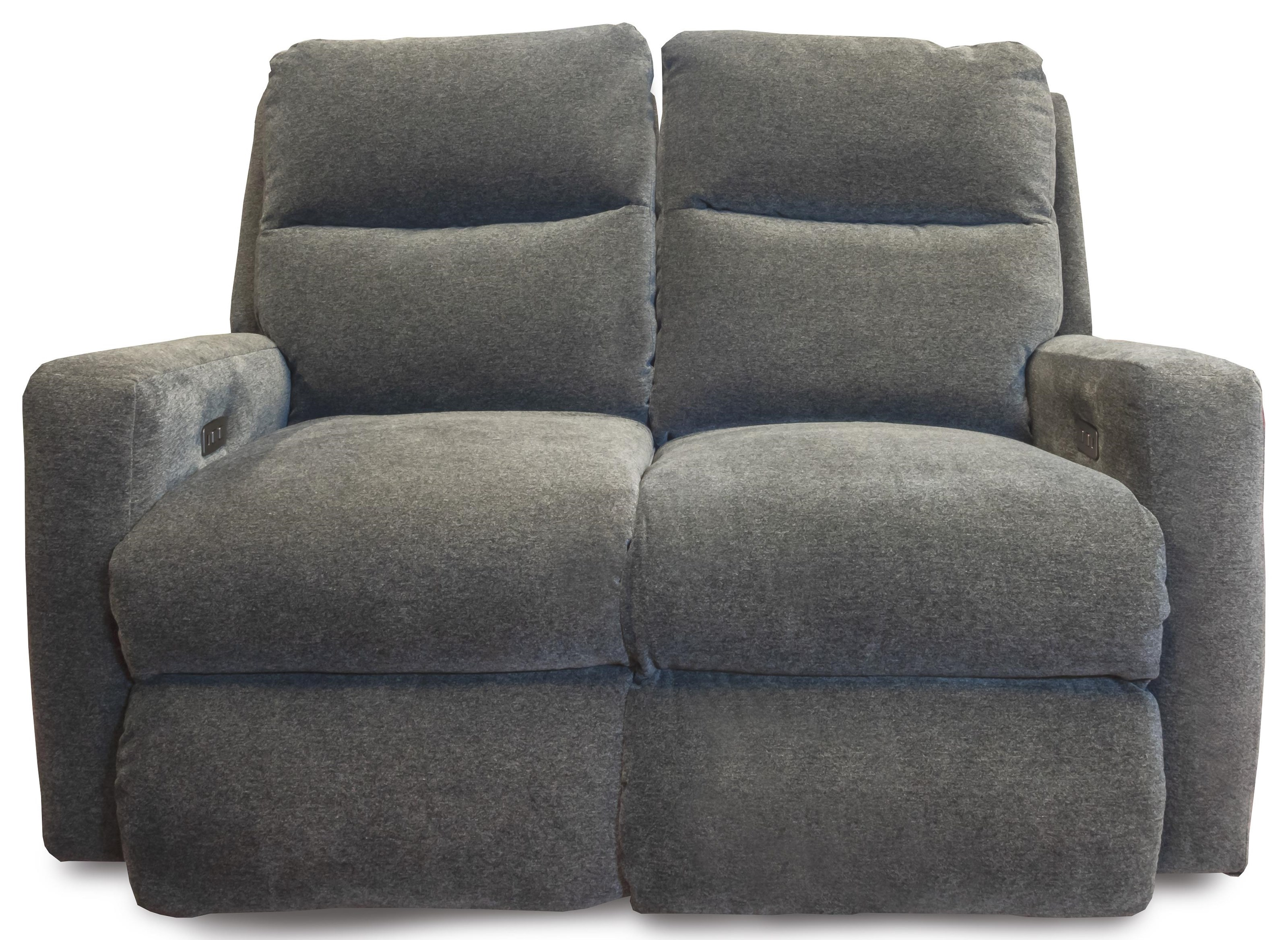 Mohair - Indie Power Headrest Loveseat by Design to Recline at Rotmans