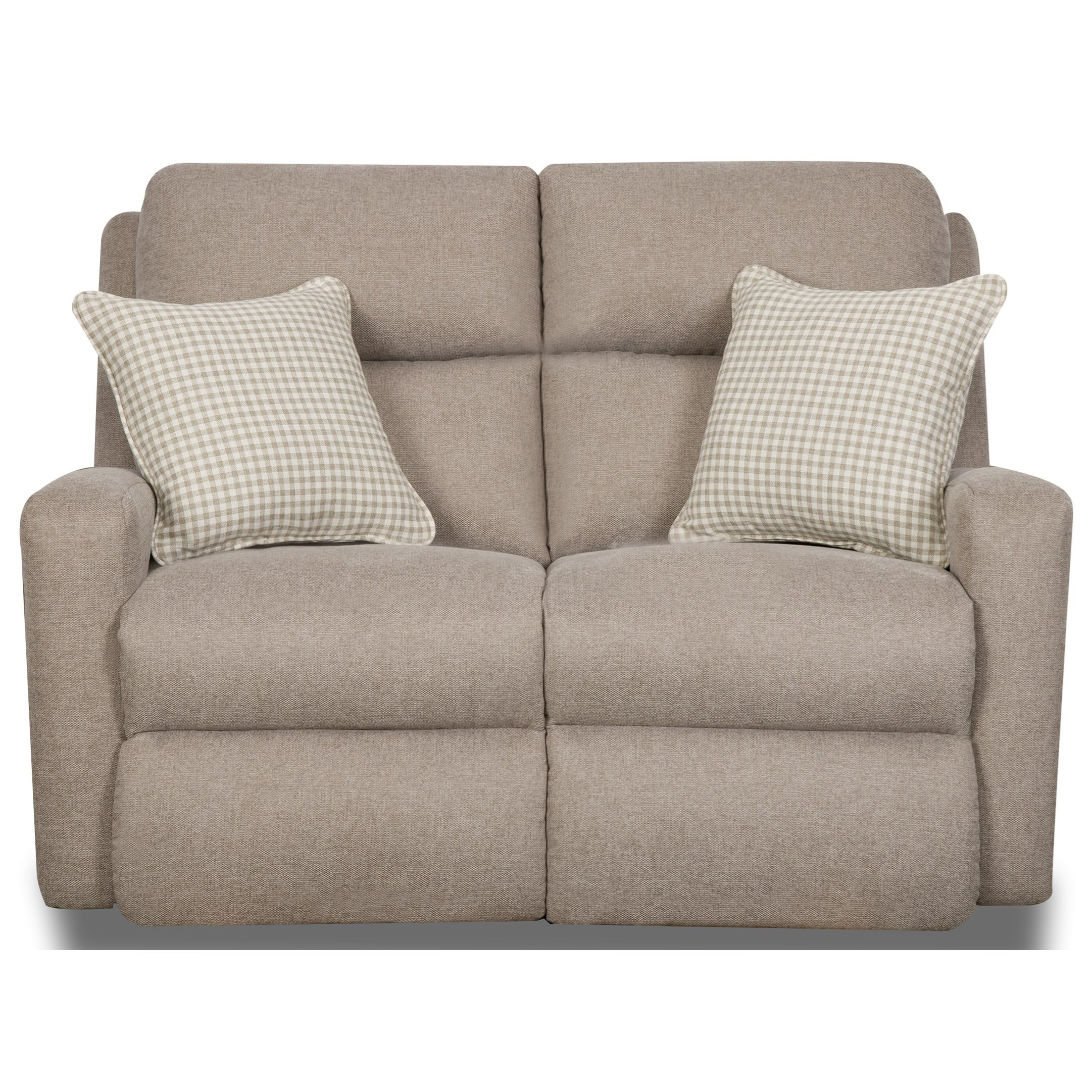Metro Double Reclining Power Loveseat by Southern Motion at H.L. Stephens