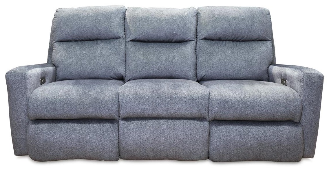 Mohair - Indie Contemporary Power Reclining Sofa by Design to Recline at Rotmans