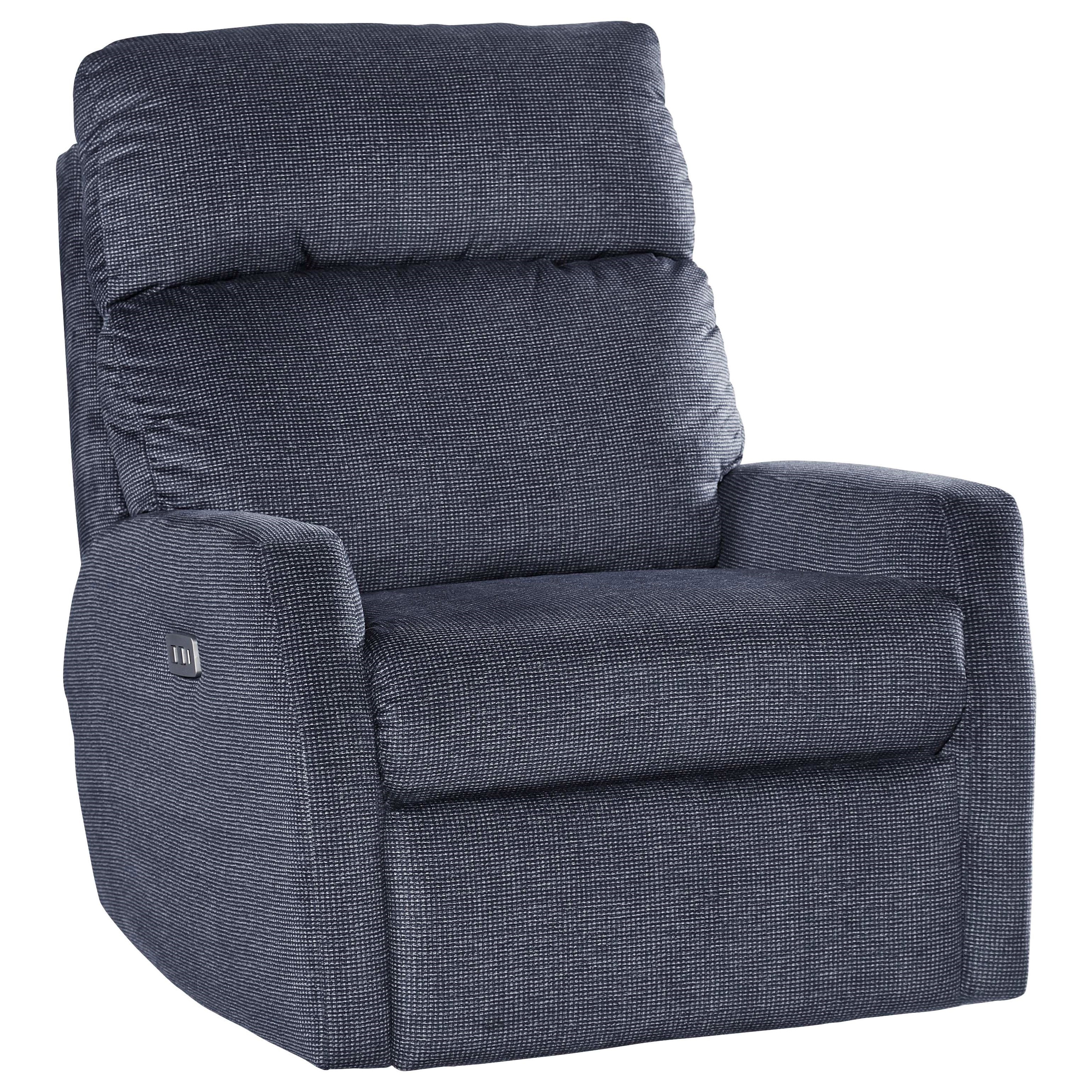 Mimi Power Headrest Layflat Lift Recliner at Sadler's Home Furnishings