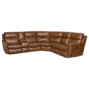 Southern Motion Monaco Reclining Sectional Sofa