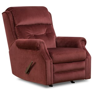 Traditional Power Plus Rocker Recliner with USB Port