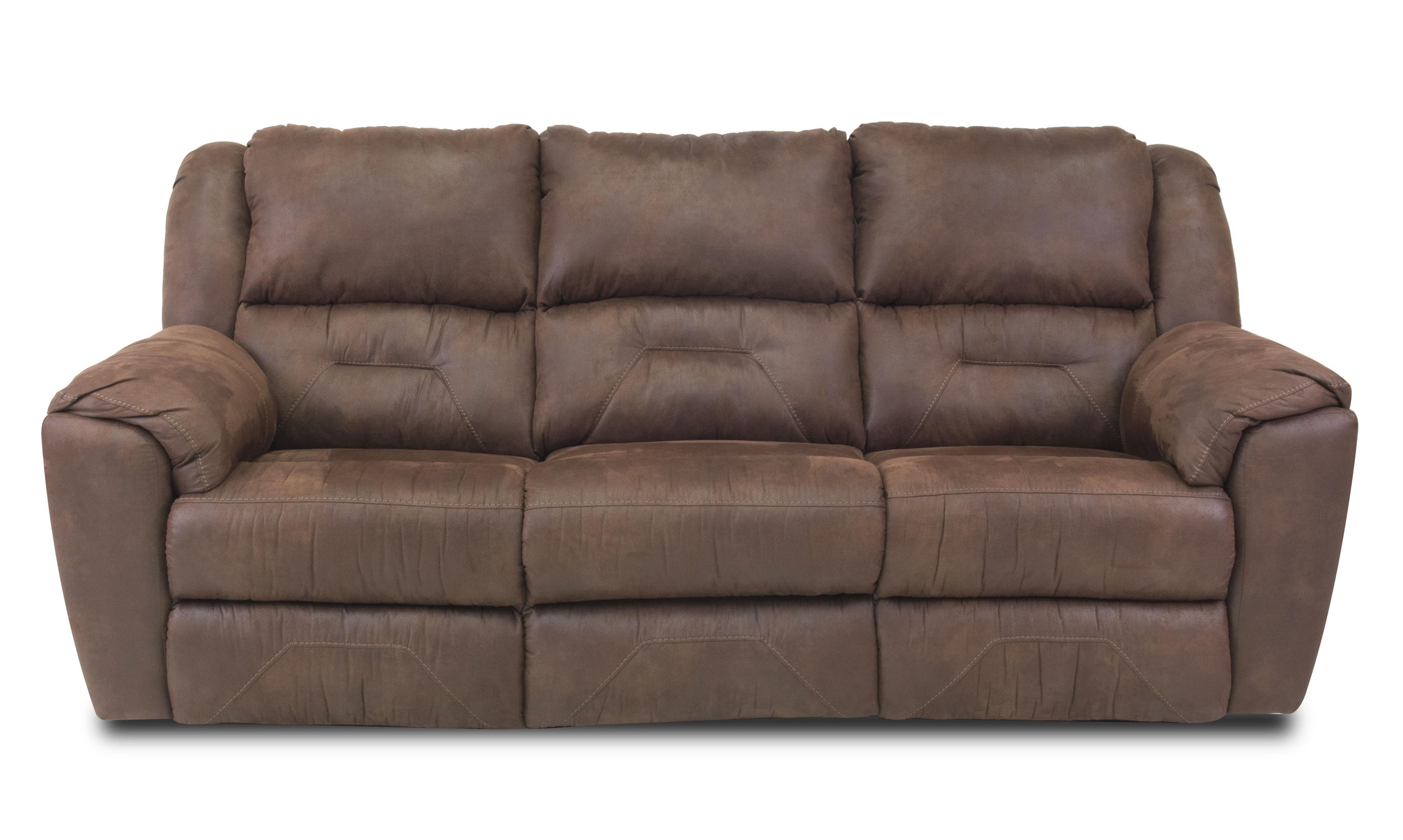 Reclining Sofa with 2 Reclining Seats
