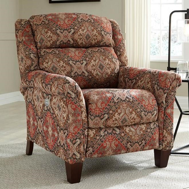 Pow Wow Power High Leg Recliner by Southern Motion at Home Furnishings Direct