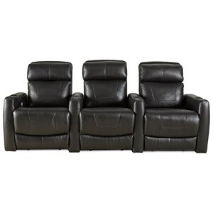 Reclining Theater Seating with 3 Seats