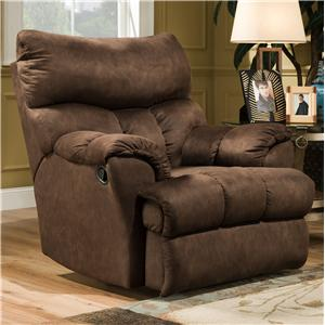 Powerized Casual Styled Wall Hugger Recliner for Family Room Comfort