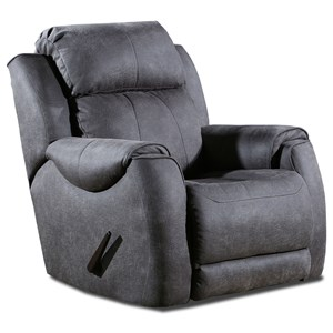 Casual Power Headrest Rocker Recliner with SoCozi Massage