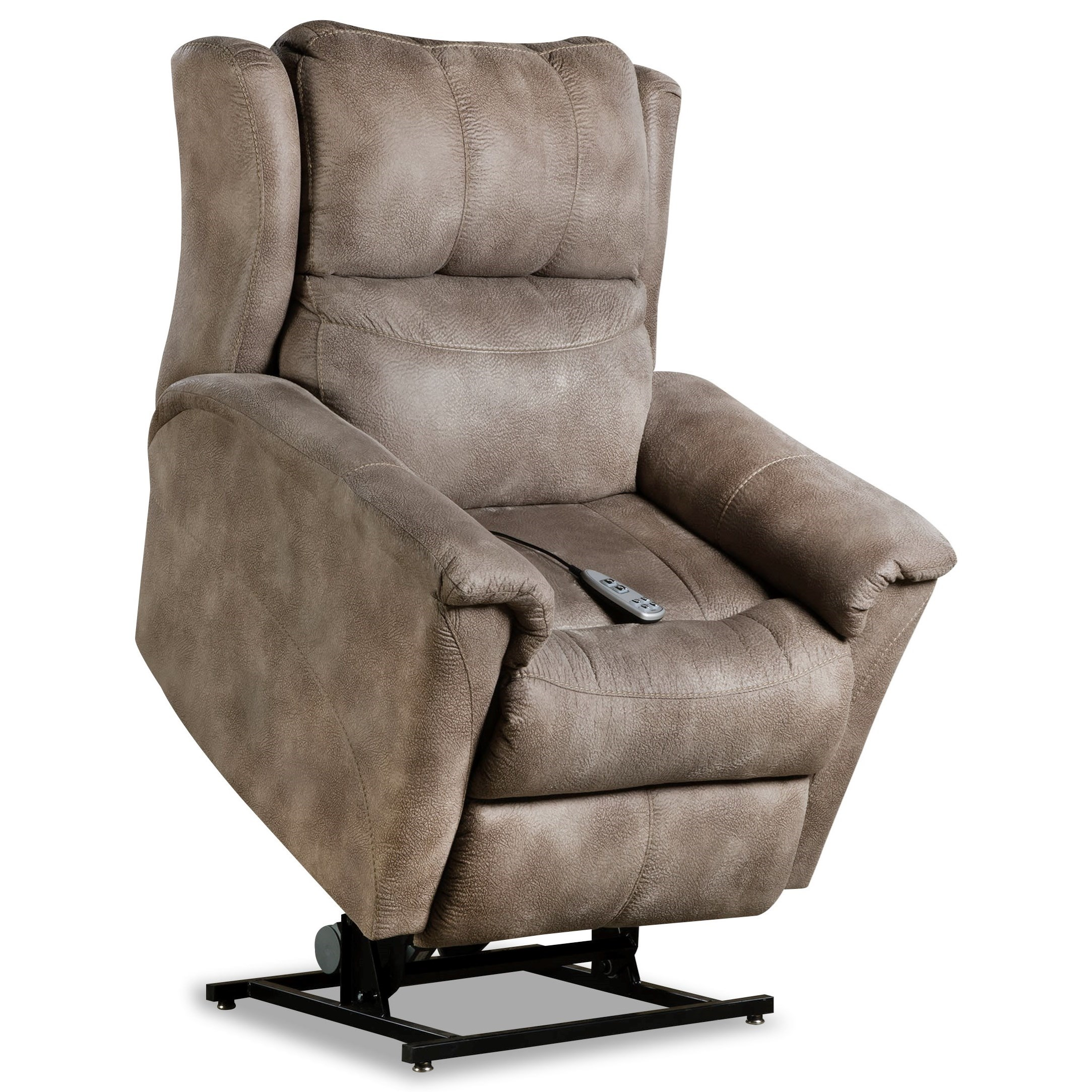 Shimmer Power Headrest Lift Recliner w/ SoCozi by Southern Motion at Becker Furniture