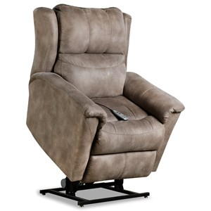 Casual Power Headrest Layflat Lift Recliner with SoCozi Technology