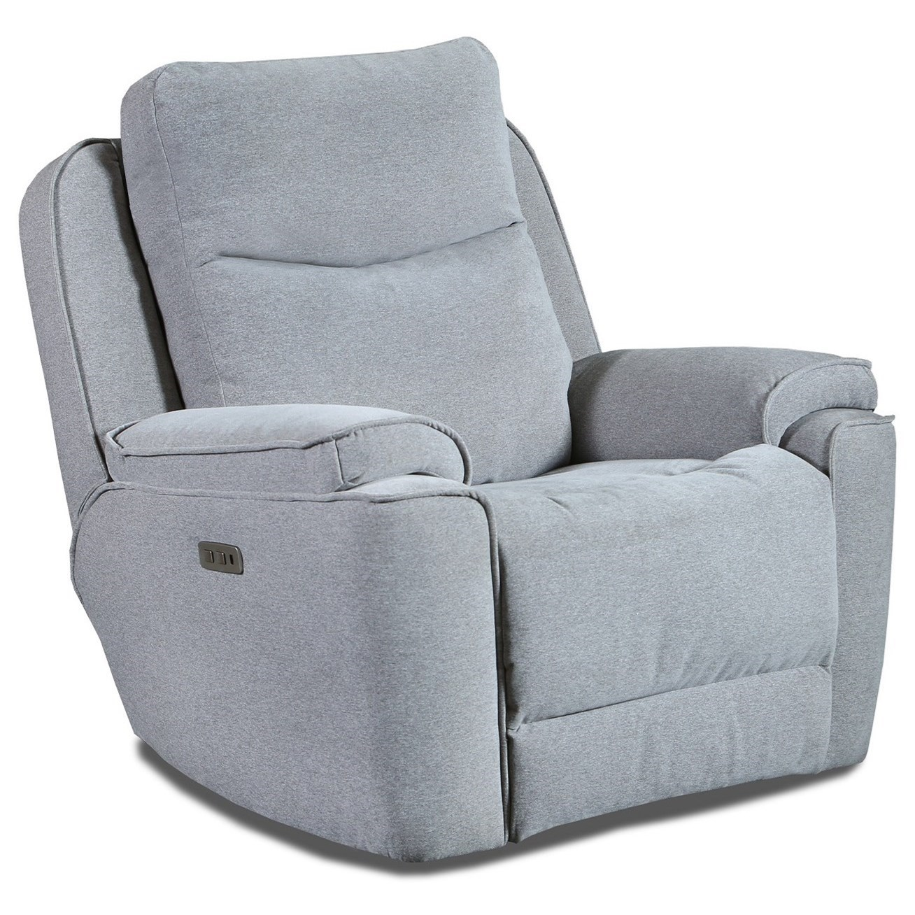 Show Stopper Power Headrest WallHugger Recliner by Southern Motion at Furniture and ApplianceMart