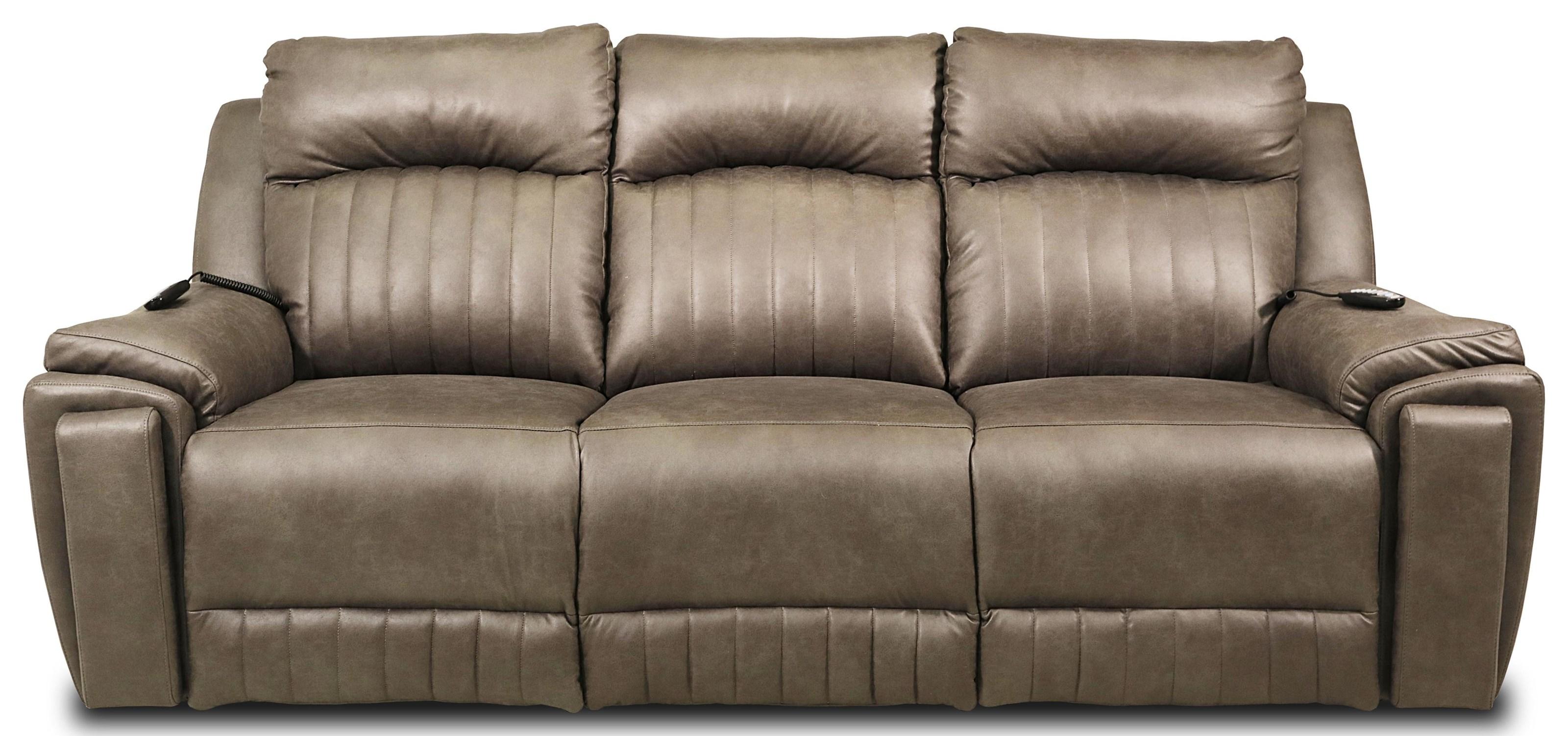 Power Headrest Sofa w/Hidden Cupholders