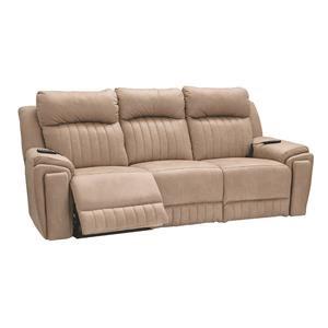 Power Sofa w/Power Headrest, Heat, Massage and Lumber