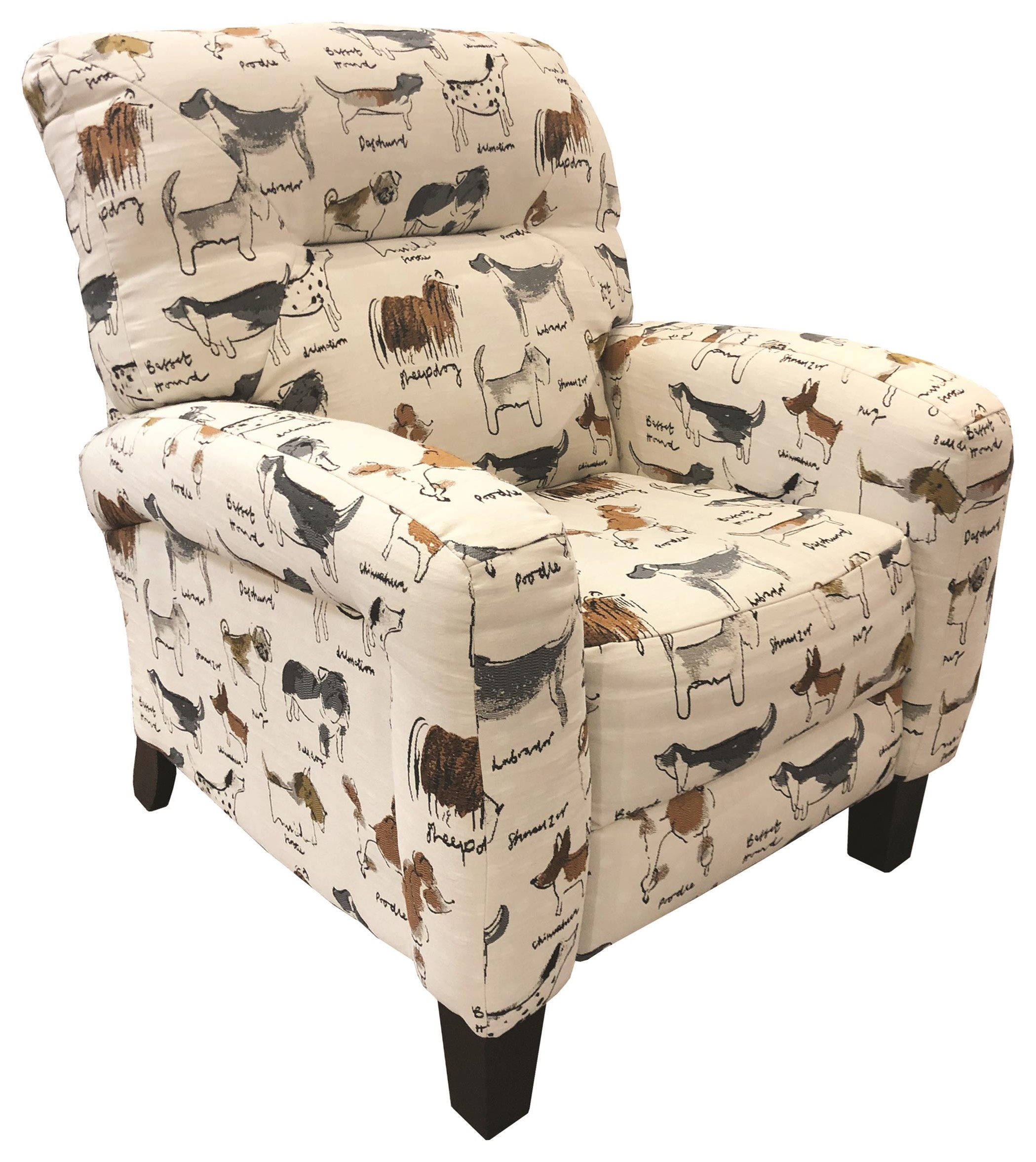 SoHo Pushback Recliner by Southern Motion at Darvin Furniture