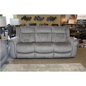 Tweed Reclining Sofa