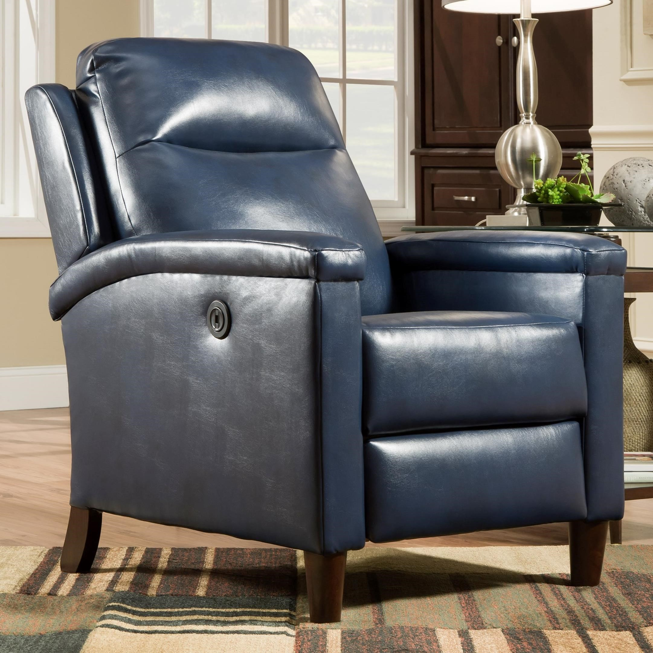 Glitz High Leg Power Recliner by Southern Motion at Sparks HomeStore