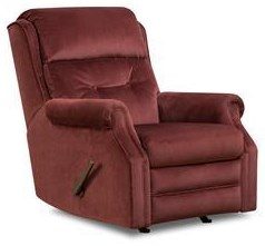 Recliners Power Rocker w/ Power Headrest by Southern Motion at Westrich Furniture & Appliances