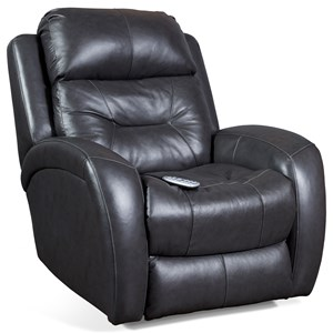 Southern Motion Recliners  Showcase Wall Hugger with Power Headrest