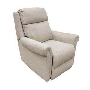 Beige Socozi Layflat Recliner with Heat, Massage, Power Lumbar, and Power Headrest