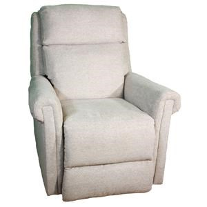 Transitional Headrest Layflat Recliner with SoCozi Technology
