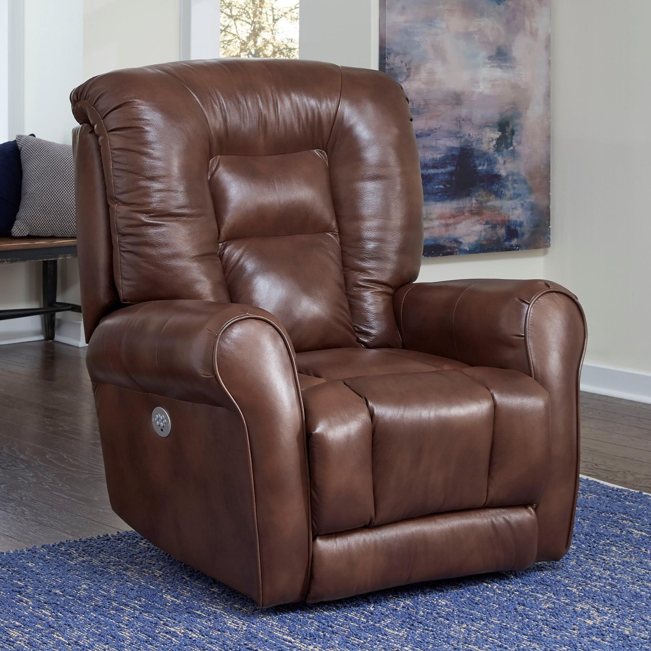 Grand Lift Recliner w/ Power Headrest by Southern Motion at Powell's Furniture and Mattress