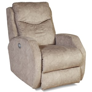 Contemporary Power Layflat Recliner