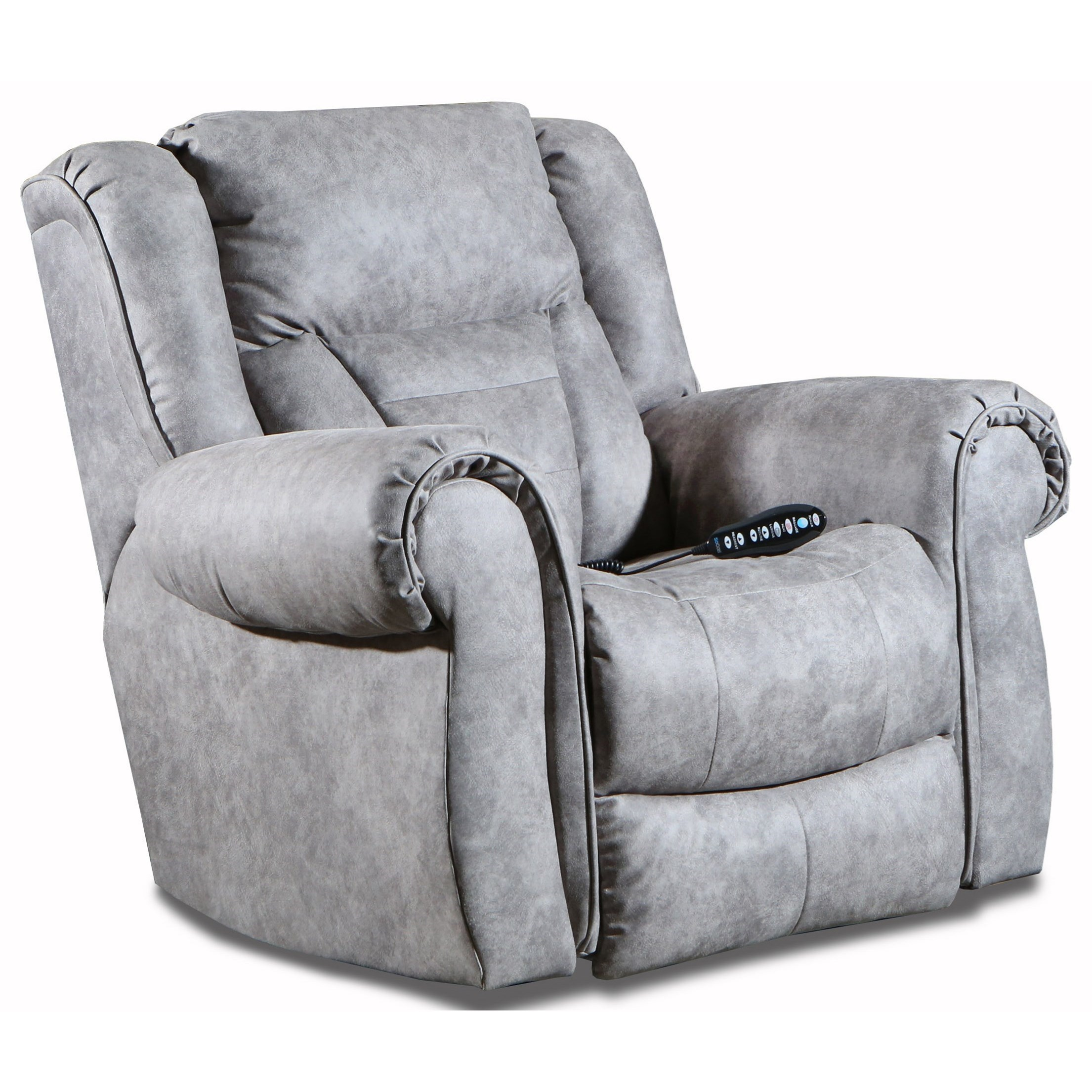 Titan Power Headrest Rocker Recliner by Southern Motion at Sparks HomeStore