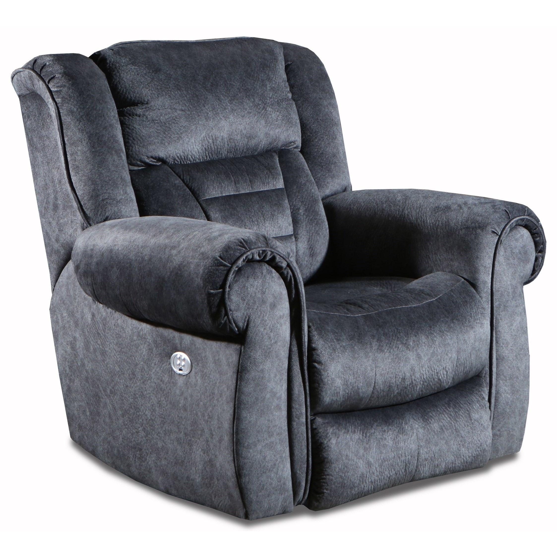 Titan Power Headrest Rocker Recliner by Southern Motion at Furniture and ApplianceMart