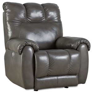 Power Headrest Rocker Recliner with Lumbar Support