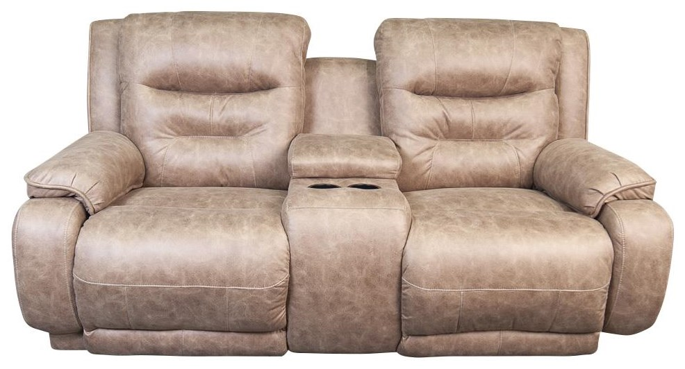 Waylen Waylen Power Console Loveseat by Southern Motion at Morris Home