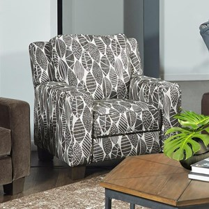 Transitional Power High Leg Recliner